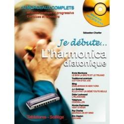 Sébastien Charlier, Je débute l'harmonica diatonique CD