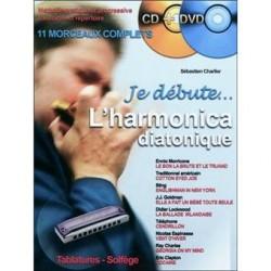 Sébastien Charlier, Je débute l'harmonica diatonique DVD+CD