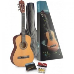 PACK GUITARE CLASSIQUE 1/2 - STAGG C510 PACK