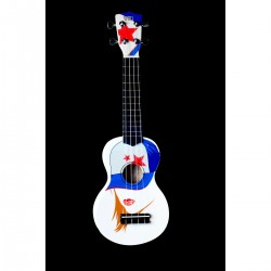 UKULELE SOPRANO PIN UP SERIE