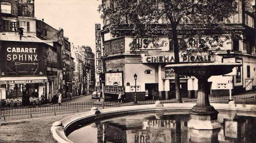 Major Pigalle 1950